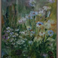 2010 margerytki w ogrodzie w Tucznie1